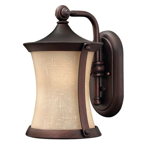 "Hinkley Lighting 1280VZ 13.25"" Height 1 Light Lantern Outdoor Wall Sconce from the Thistledown Collection"