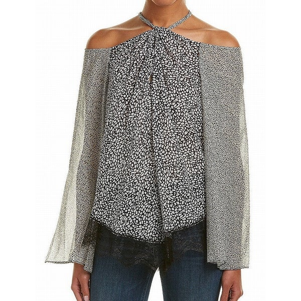 85ed062e4e3146 Shop Derek Lam 10 Crosby NEW Black Women s Size 8 Animal-Print ...