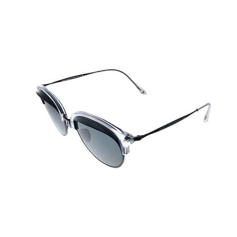 Giorgio Armani AR 8117 571887 50mm Unisex Grey Frame Grey Lens Sunglasses