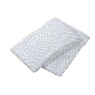 Mukitchen 6648-0901 Muwaffle Dishtowel, White