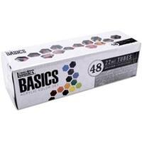 Liquitex Basics Acrylic Paint 22Ml/Tube 48/Pkg-Assorted Colors