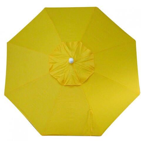 O'Bravia 9' Tilt-and-Crack Umbrella - Bar Height