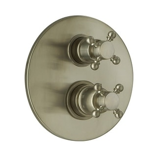 Fortis 8869000 Caffe Thermostatic Valve Trim with Volume Control - Polished Nickel
