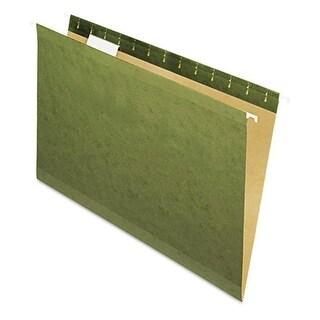 Pendaflex 4153 X-Ray Hanging File Folders - Legal, Standard Green