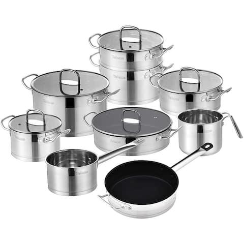 Velaze Mayne 14-Piece Cookware Set