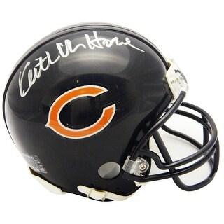 Keith Van Horne Chicago Bears Riddell Mini Helmet
