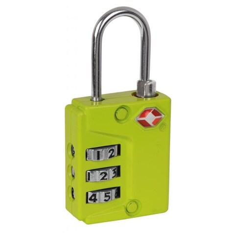 Ivation Three Dial TSA Approved Combination Luggage Lock