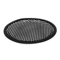 Unique Bargains Metal Mesh Round Truck Car Woofer Cover Speaker Subwoofer Grill Black 16.5cm
