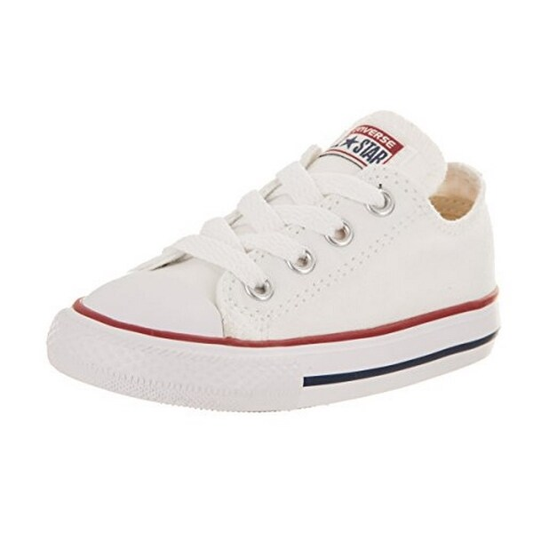Converse Unisex Child Infant/Toddler Chuck Taylor All Star Ox - White - 10 Tod