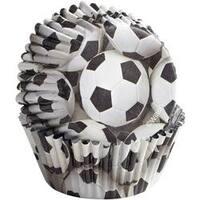 Soccer 36/Pkg - Colorcup Standard Baking Cups