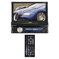 "Boss 7"" Single Din Motorized Touchscreen Bluetooth USB/SD Remote"