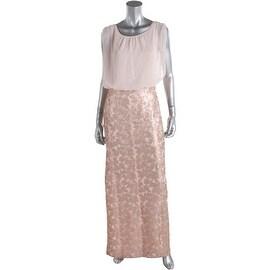 Aidan Mattox Womens Sleeveless Full-Length Formal Dress