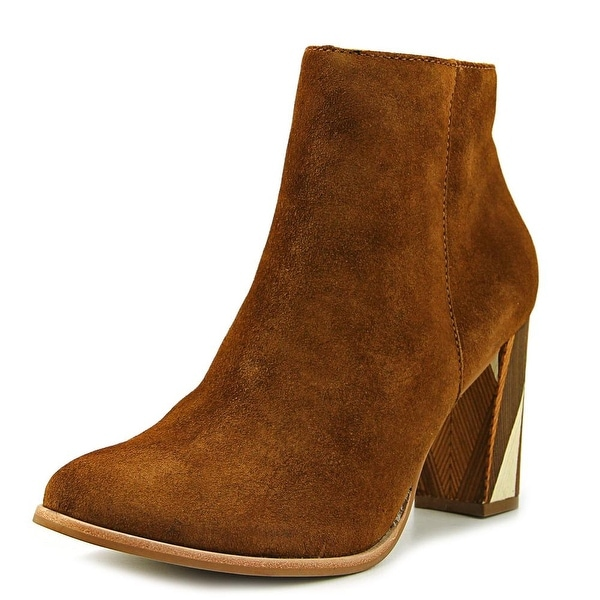 Matisse Metric Women Round Toe Leather Brown Ankle Boot