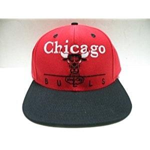 30a58e4dac57b0 Shop NBA Chicago Bulls Block Script Red 2 Tone Retro Snapback Cap - Free  Shipping On Orders Over $45 - Overstock.com - 20669192