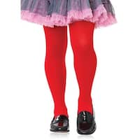 Girl Costume Tights, Red
