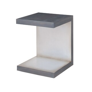 "GuildMaster 711655  16"" Wide Mahogany C-Table"