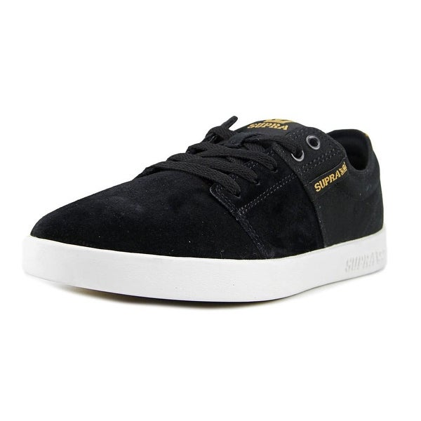 Supra Stacks II Men Black-White Skateboarding Shoes