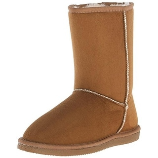 Western Chief Womens Isabelle Casual Boots Microsuede Mid-Calf