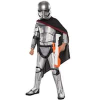 Rubies Super Deluxe Captain Phasma Child Costume - Silver