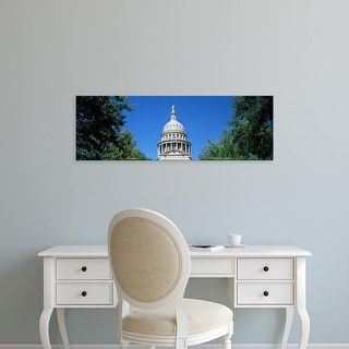 Easy Art Prints Panoramic Images's 'View of a government building, Texas State Capitol, Austin, Texas' Canvas Art