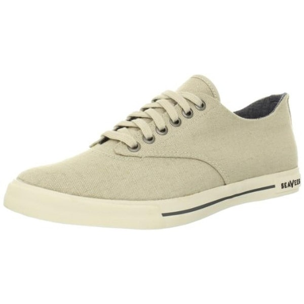 SeaVees Mens Hermosa Plimsoll Casual Shoes Lace-Up
