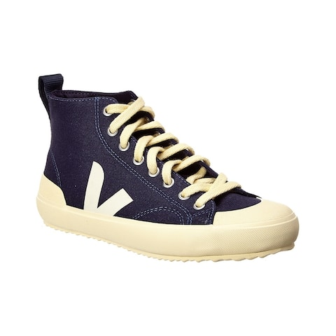 Veja Nova High-Top Canvas Sneaker