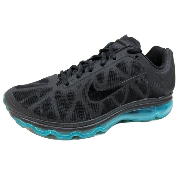 best service 5c151 1eb74 Nike Women  x27 s Air Max + 2011 Black Black-Neo Turquoise