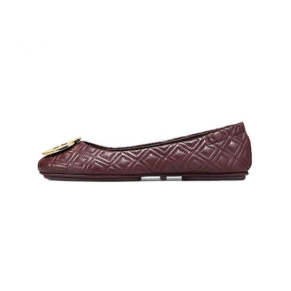 c229037165b8 Shop Tory Burch Minniee Quilted Leather Ballet Flat