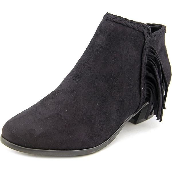 Madeline Girl Trebel Women Round Toe Suede Ankle Boot