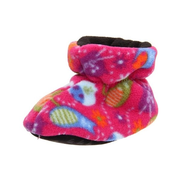Acorn Bootie Slippers Fleece Infant