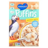 Barbara's Bakery Puffins Cereal - Honey Rice - Case of 12 - 10 oz.