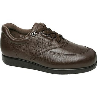 Drew Men's Expedition II Brown Pebbled Leather
