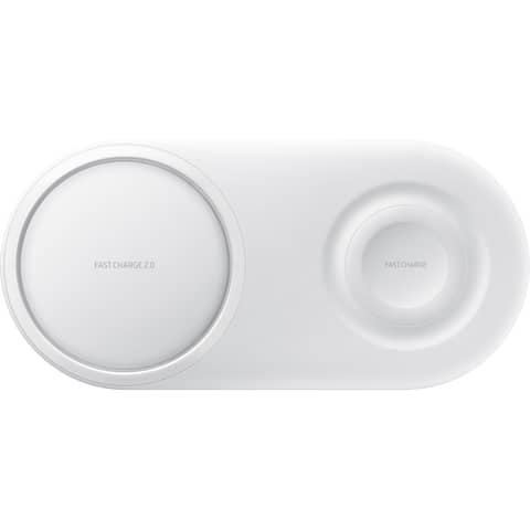 Samsung Wireless Charger Duo Pad - White Wireless Charging Duo Pad