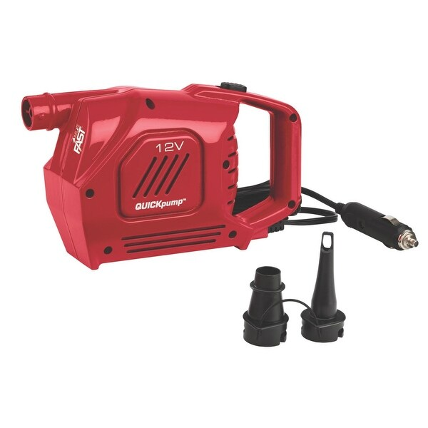 Coleman 2000017846 Quick Pump, 12 Volts, Plastic