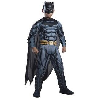 Rubies Deluxe Batman Child Costume - Black