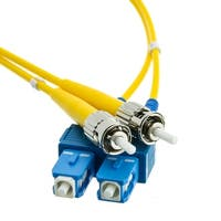 Fiber Optic Cable, SC / ST, Singlemode, Duplex, 9/125, 15 meter (49.2 foot)