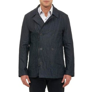 Robert Graham Mens Woodlawn Jacket Tailored Fit Double-Breasted