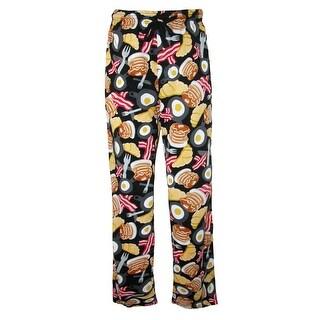 BioWorld Men's Bacon Eggs Breakfast Pajama Pants