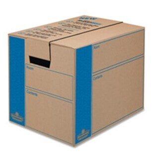 Moving Boxes- Large- 18-.25in.x25in.x19in.- 6-CT- Kraft