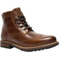 Crevo Men's Speakeasier Ankle Boot Chestnut Leather