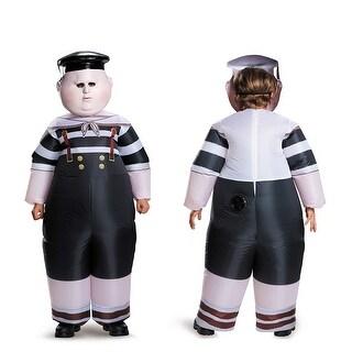 Kids Tweedle Dum/Tweedle Dee Inflatable Costume Standard Size - one size (size 7-10)