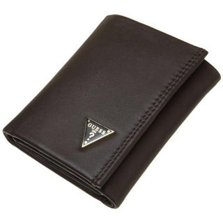 Guess Mens Cruz Leather Credit Card Trifold Wallet - o/s