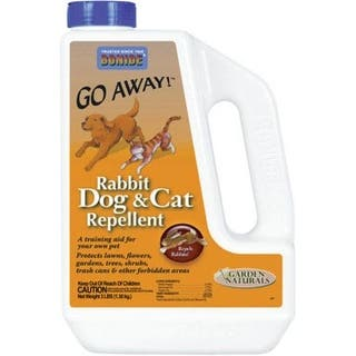Bonide 871 Rabbit / Dog And Cat Repellent, 3 Lbs|https://ak1.ostkcdn.com/images/products/is/images/direct/2261648d3a57c980fb303dd45ce3fbde2c1908f5/Bonide-871-Rabbit---Dog-And-Cat-Repellent%2C-3-Lbs.jpg?impolicy=medium