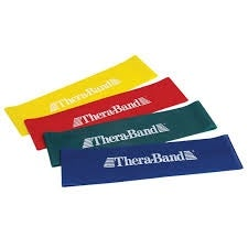 """Thera-Band Exercise Band Loops - 12"""" for the Home and Clinic (Option: Blue)"""