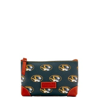 Dooney & Bourke NCAA Missouri Cosmetic Case (Introduced by Dooney & Bourke at $48 in Jan 2016) - Black