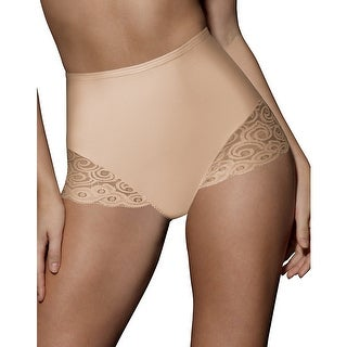 Bali Brief with Lace Firm Control 2-Pack - M