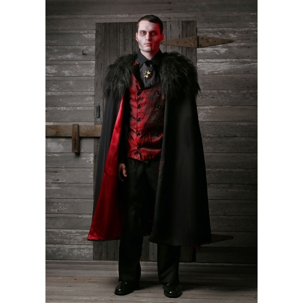 932d83b5d94 Shop Plus Size Deluxe Men s Vampire Costume - Ships To Canada ...