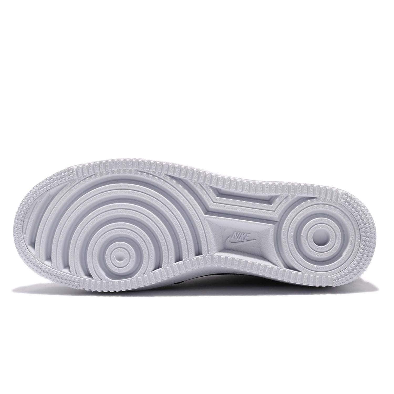Nike Womens AIR Force 1 Ultraforce Mid Fabric Low, BlackBlack White, Size 6.0