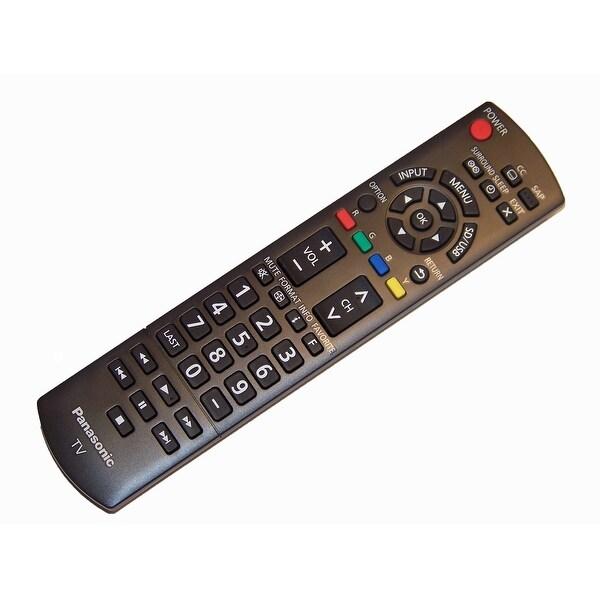OEM Panasonic Remote Control Originally Shipped With: TCL32X5, TCP50X5, TCP50U50, TCP42X5, TCP42X52, TC60PU54