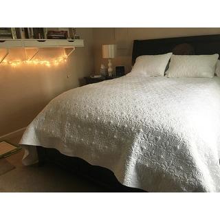 Madison Park Mansfield Oversized 3-piece Bedspread Mini Set
